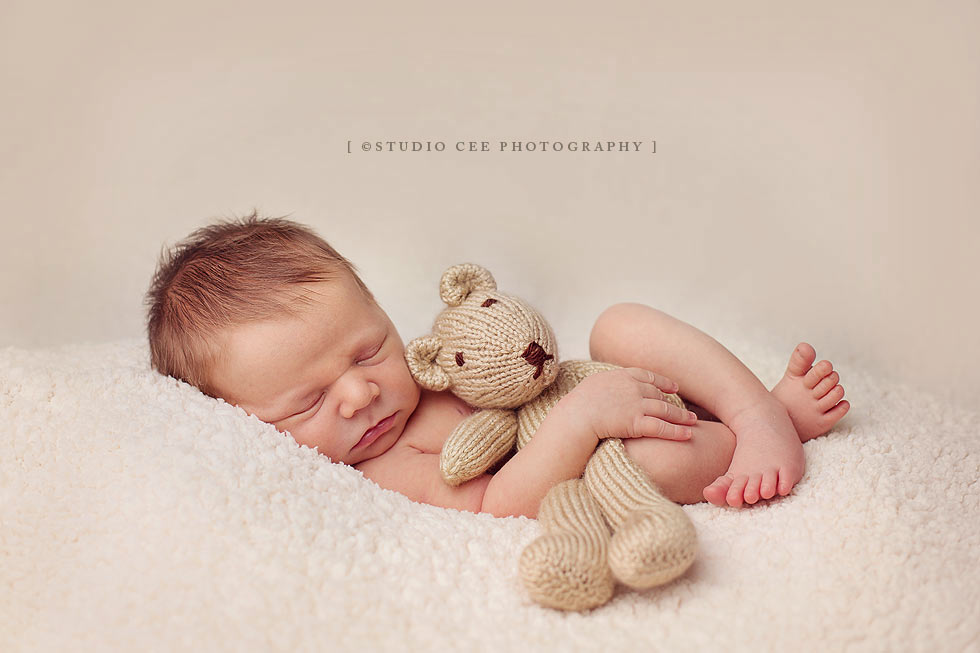 Studio cee newborn photography orange county baby levi